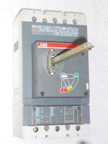 Abb s5n sace s5 600v-ac circuit breaker 3-pole issue l-5337 - never installed!