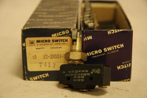 Honeywell BZ-2RQ81-A2 Micro Limit Switch 15A 125 250 480 VAC New Box of 10, US $125.00 � Picture 2