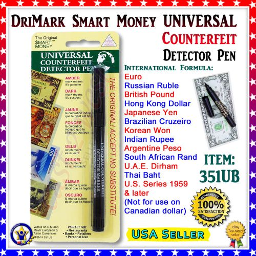 drimark smart money universal counterfeit detector marker pe