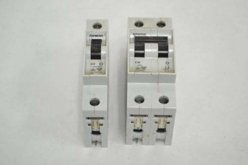 LOT 5 SIEMENS ASSORTED 5SX21-C2 5SX22-C16 230/400V-AC CIRCUIT BREAKER B352502, US $11.46 � Picture 2
