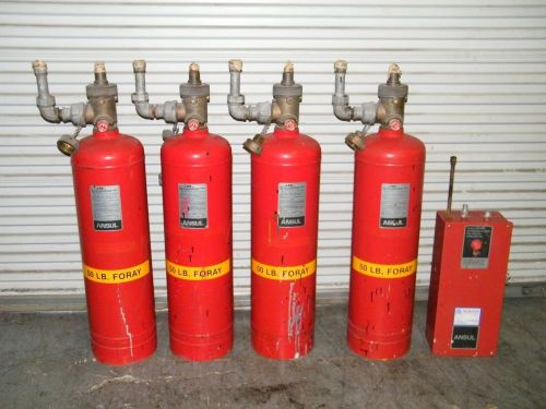 Ansul Spa50 Spa 50 Dry Chemical Agent Fire Suppression