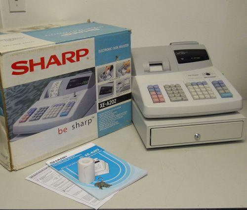 User manual sharp xe-a107