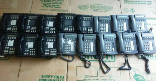 One lot of 16 avaya lucent 6408d+ 8405d office business phones working free ship