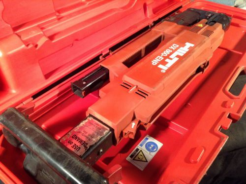 Hilti dx 860-enp powder actuated tool for steel decking