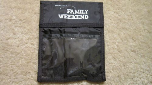 3-pocket credential holder w/neck cord &adjustable cord lock,from sc fam weekend