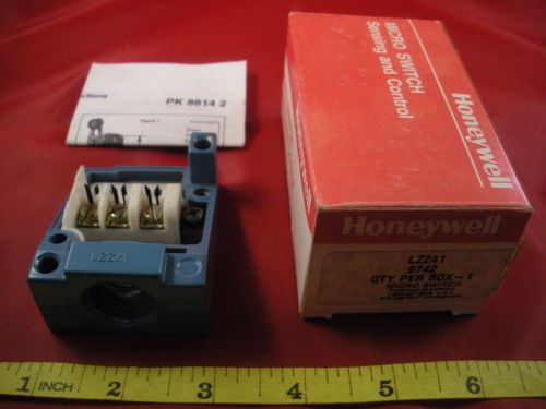 Honeywell microswitch lzz41 limit switch enclosed basic body only nib new