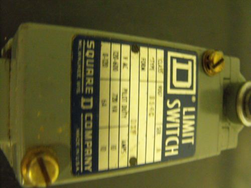 Square D Limit Switch , type B54C , Class 9007 , Series A , DXF, US $30.00 � Picture 3
