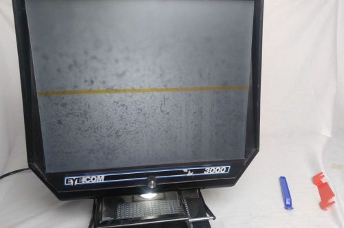 Microfiche reader eyecom 3000 tested and working