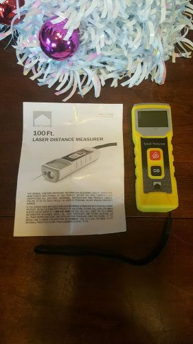 Tool house laser distance measurer-100ft