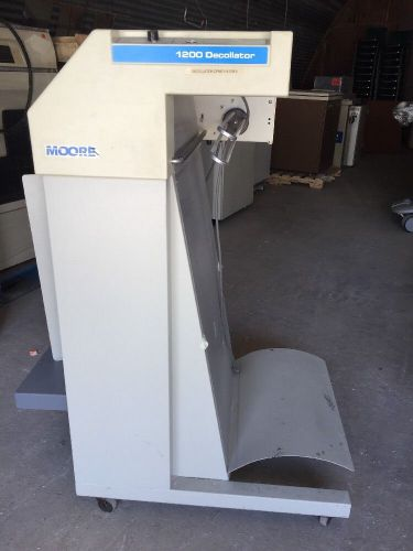 Moore 1200 decollator forms seperator