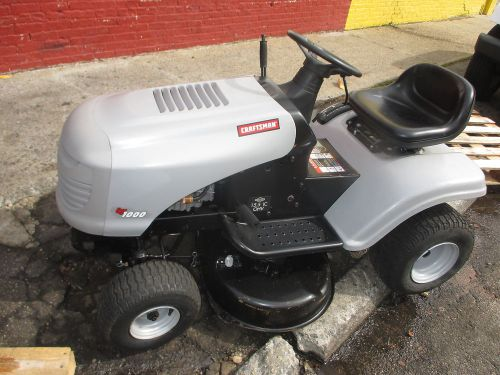 Craftsman lt 1000 riding lawn mower / tracker