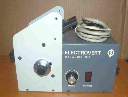 Electrovert dial-a-lock ii-f - motorized lead former - powers on