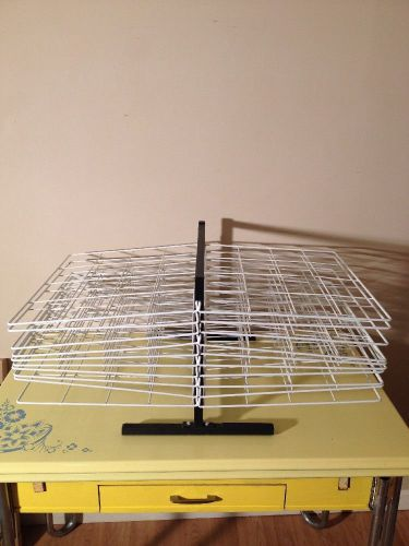 Print making drying rack, silk screen drying rack, 20 shelves