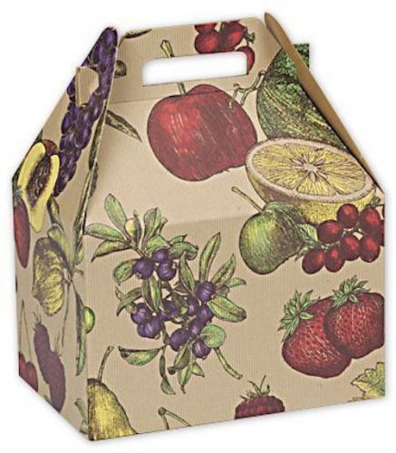 "(case of 80) fruit bowl large gable boxes, 9 x 6 x 6"" bx5107l togo, catering"