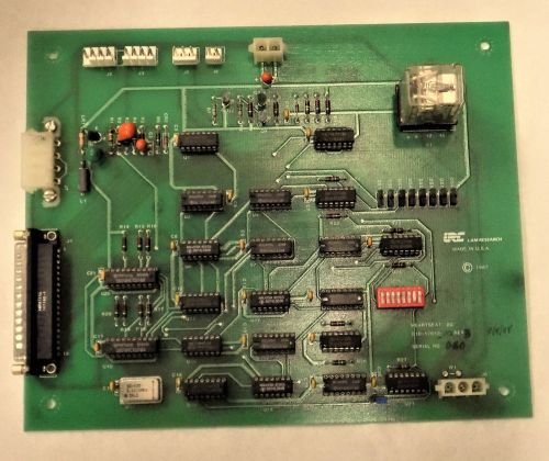 Lam research heartbeat bd pcb 810-017012-001 rev 3 board