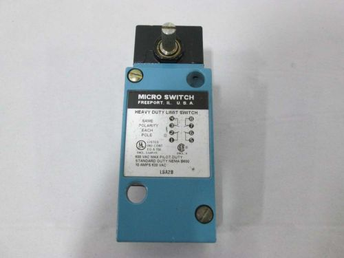 New honeywell lsa2b micro switch limit switch 600v-ac 10a amp d368784