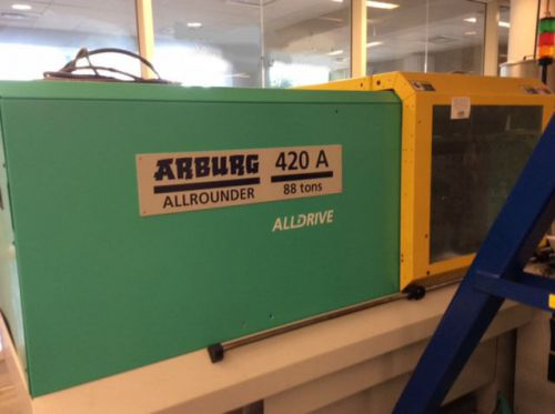 2005 Arburg Allrounder 420A Injection Molding Machine 88 Tons