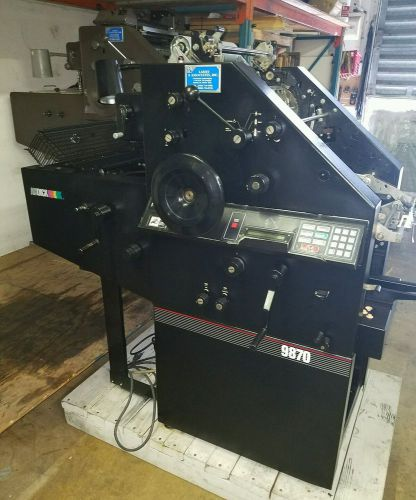 ,a b dick 9870 abdick press cleaned, serviced, ab dick 9800 9810 printing