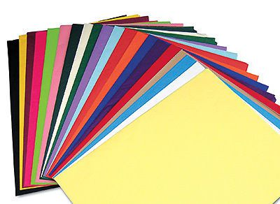 "20"" x 30"" 10 lb. gift grade tissue paper sheets - assortment pack (480 sheets)"
