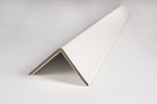 Cardboard edge corner protectors 36? x 2? x 2? (case of 100) white