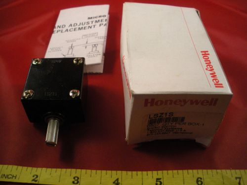 Honeywell microswitch lsz1s limit switch operating head nib new in box