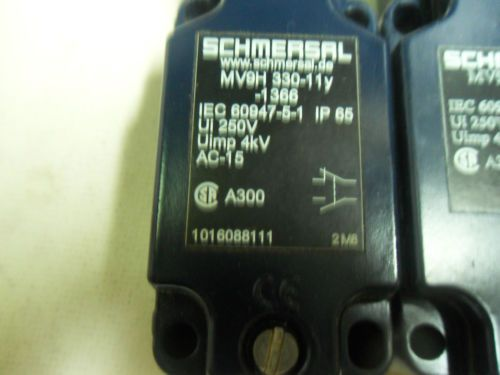 (N3-2) 2 NEW SCHMERSAL MV9H330-11Y-1366 LIMIT SWITCHES, US $112.22 – Picture 2