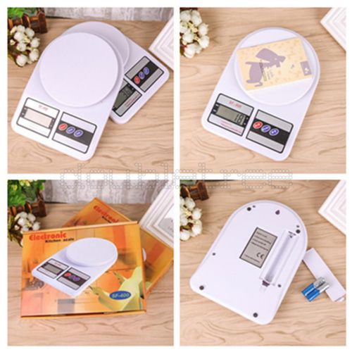 1g-10kg digital lcd electronic kitchen postal scale cooking food weighing weight