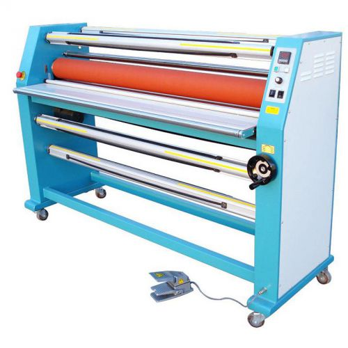 "63"" cabinet frame full-auto electric single side wide format hot laminator-sea"