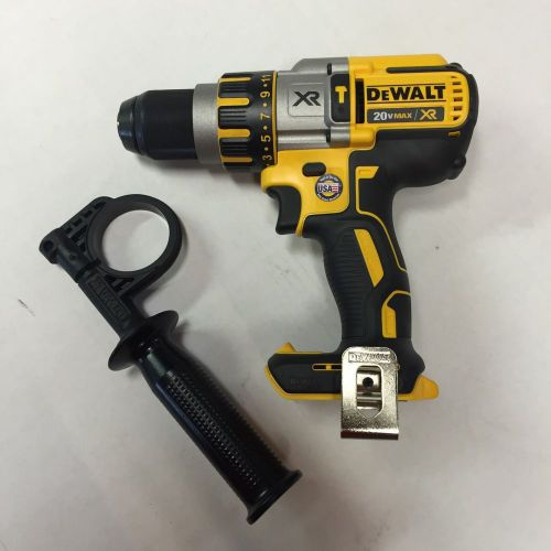 "Usa made dewalt dcd995 20v li-ion xr 1/2"" cordless hammer drill bare brushless"
