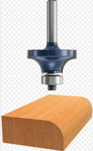 Bosch 85434m 2-inch diameter 3/4-inch cut carbide tipped roundover router bit
