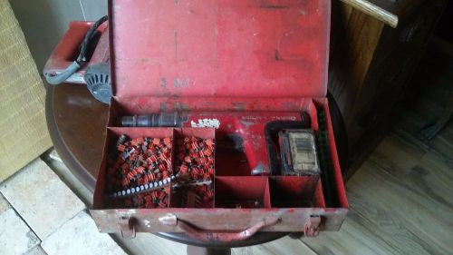 Hilti TE125 Hammer Drill and Hilti Dx 350 Pin Nailer � Picture 1