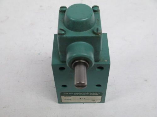 Aro 401 pneumatic 1/8in npt pneumatic air limit switch d207778