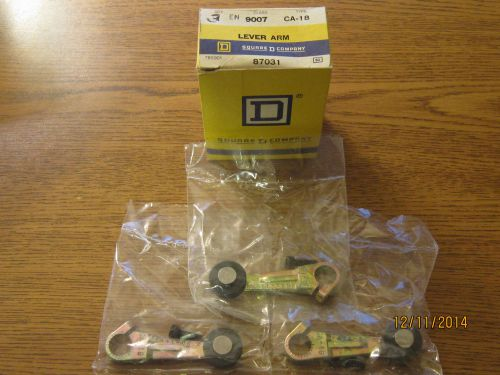 Box of 3 square d 9007ca18 lever arm, limit switch (lot b)