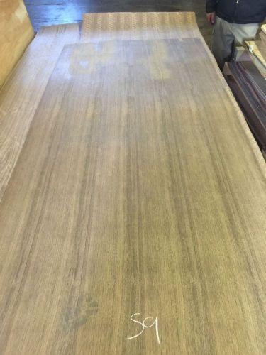 wood veneer walnut 36x82 1pcs total 10mil paper backed
