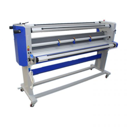 "67"" full - auto single-side wide format hot and cold laminator with trimmer-sea"