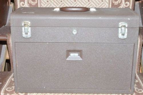 Kennedy tool box machinists steel chest 7 drawer