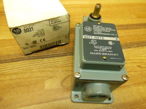 Allen bradley 802t-r8td ser.2 oil tight limit switch lever type 2 circuits