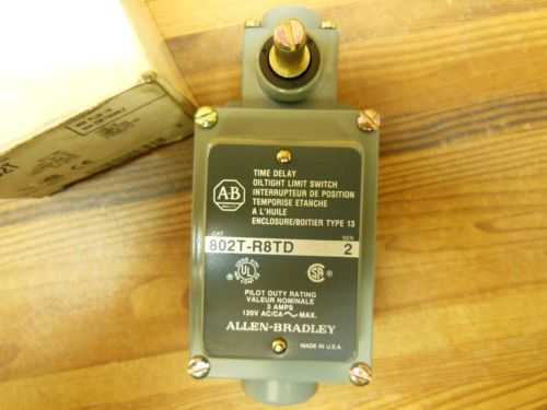 Allen Bradley 802T-R8TD ser.2 oil tight limit switch lever type 2 circuits, US $45.00 � Picture 2