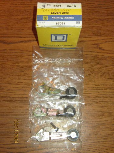 Box of 3 square d 9007ca18 lever arm, limit switch (lot a)