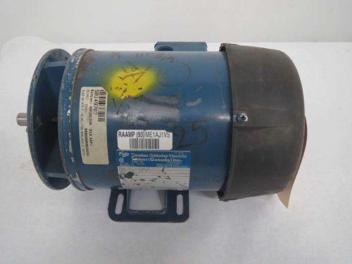 Hawker siddeley mma 564 tfcp4g ac .98hp 550v-ac 3ph electric motor b357689
