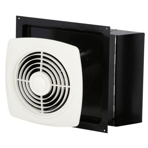 Through the wall bathroom exhaust fan