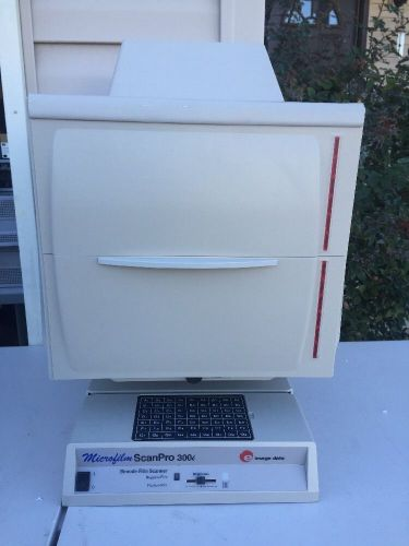 E-image data microfilm scanpro 300i bimode film scanner - tested working - good