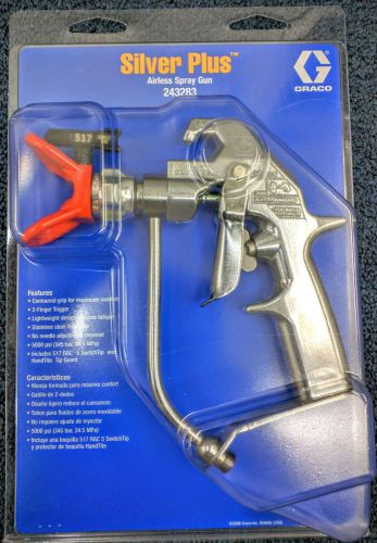 Graco Silver plus airless spray gun NEW OEM � Picture 1