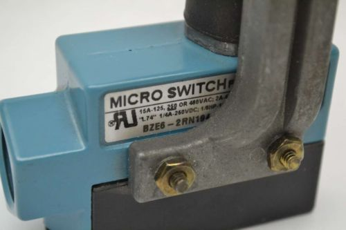 MICRO SWITCH BZE6-2RN194 TOP PLUNGER LIMIT 250V-AC SWITCH B405916, US $19.25 – Picture 2