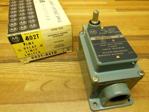 "Allen Bradley 802T-R6TD Oil tight limit switch ""time Delay"", US $85.00 � Picture 1"