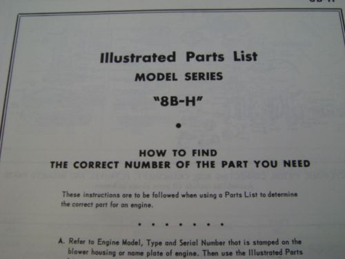 Manuals & Books (Stationary Engines) for sale, page 62   TZSupplies com