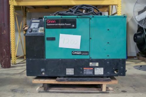 12kw onan commerical mobile generator (for rv) - 31 hours of usage