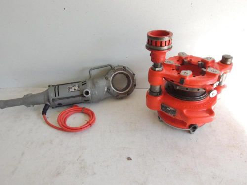 "Ridgid 700 & 141 pipe threader threading machine 2-1/2"" to 4"" hoghead #774 adpt"