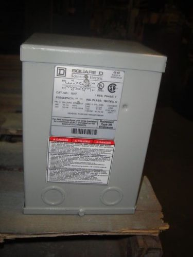 1 KVA SQUARE D TRANSFORMER MODEL# 1S1F  VOLTAGE 240 X 480 TO 120/240, US $100.00 � Picture 1