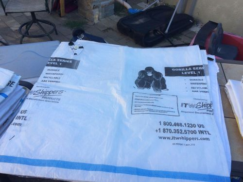 5 gorilla dunnage bags (4'x4')